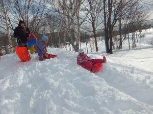 雪遊び準備2
