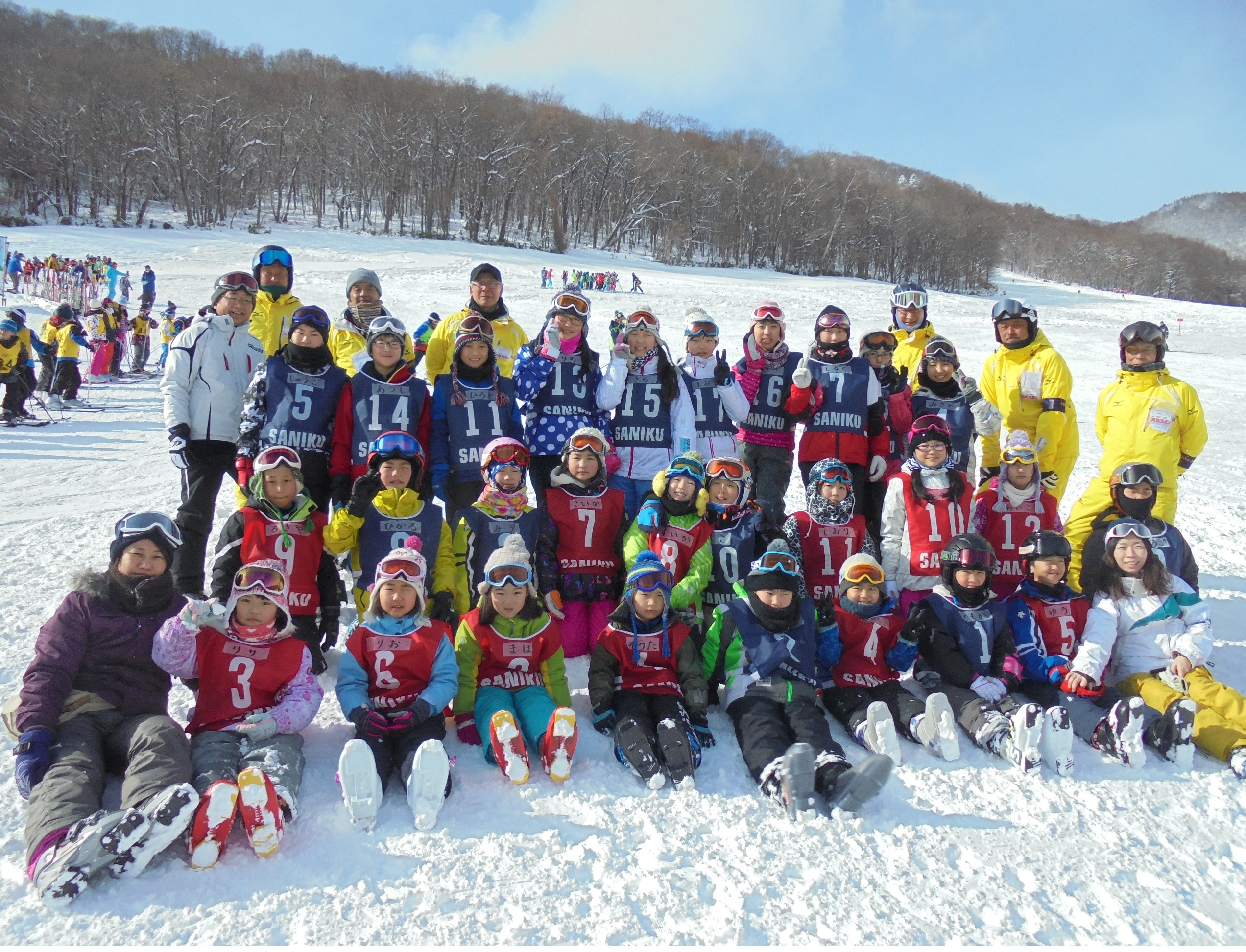 スキー全員